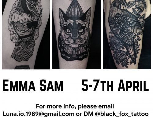 Guest artist: EMMA SAM 5-7th April