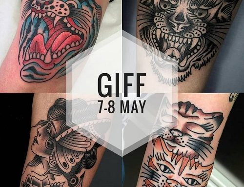 Guest artist: GIFF JACOPO MENEGAZZO 7-8th May 2019