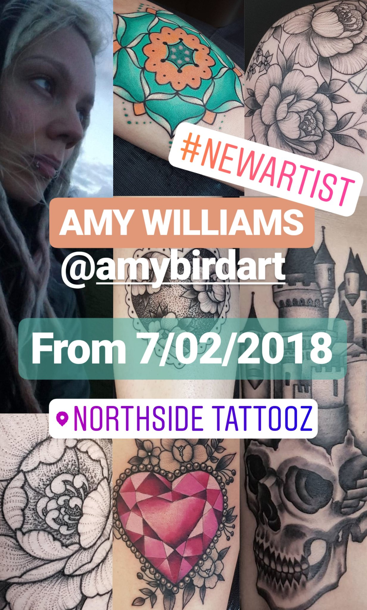 AMY WILLIAMS – New Artist
