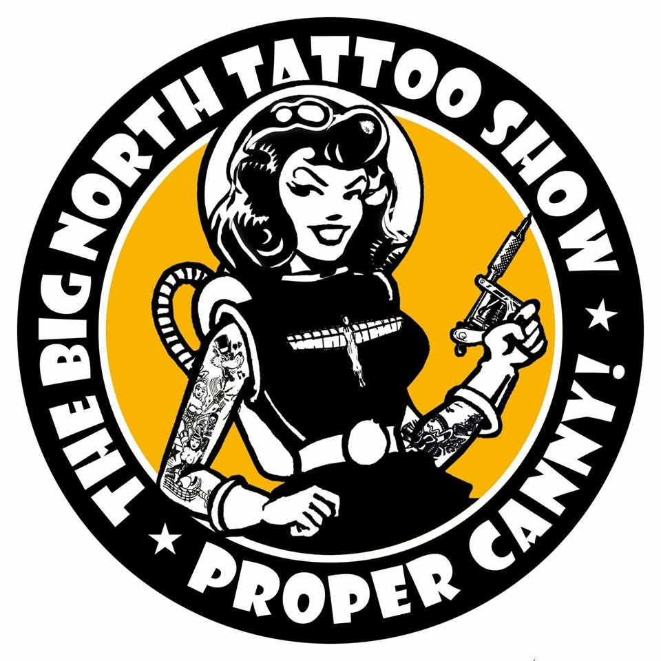 JAYSIN BURGESS, LEA SNOEFLINGA & KARA CHAMBERS are working THE BIG NORTH TATTOO SHOW 2018