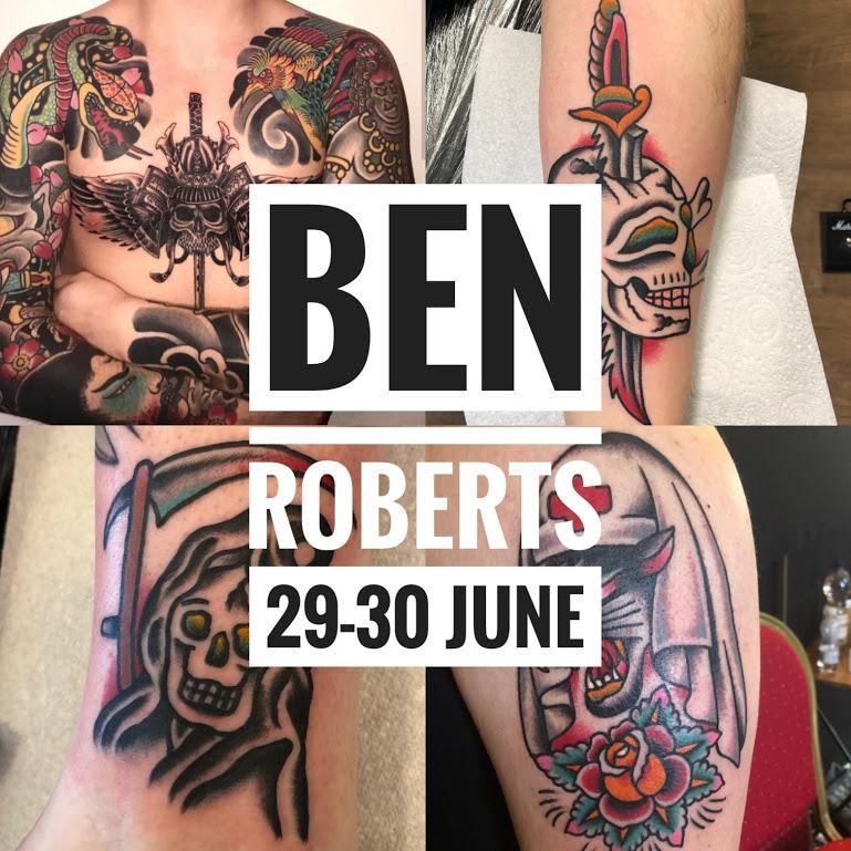 Guest artist: BEN ROBERTS 29-30th June 2018