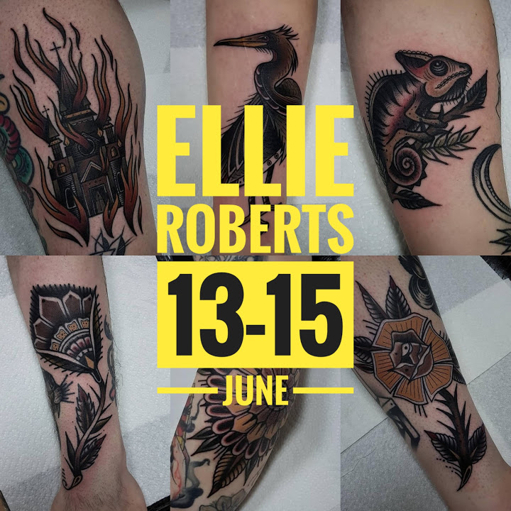 Guest artist: ELLIE ROBERTS 13-15th June 2018