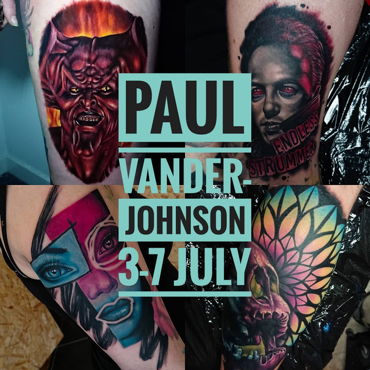 Guest artist: PAUL VANDER-JOHNSON 3-7 July 2018