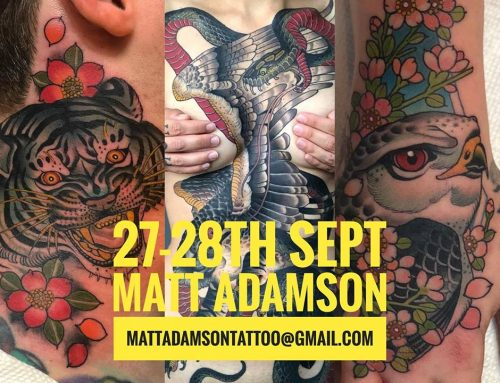 Guest artist: MATT ADAMSON 27-28th September 2018