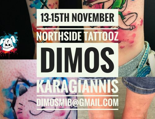 Guest artist: DIMOS TRASH TATTOO 13-15th November 2018