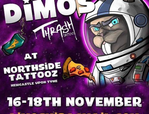Guest artist: DIMOS TRASH TATTOO 16-18th November 2019