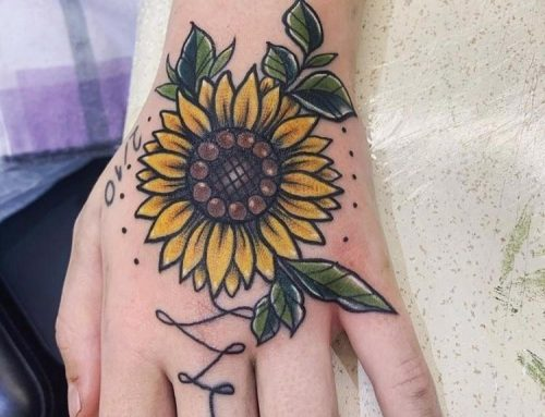 Tattoo by Holly Tarren